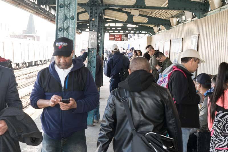 Queens commuters