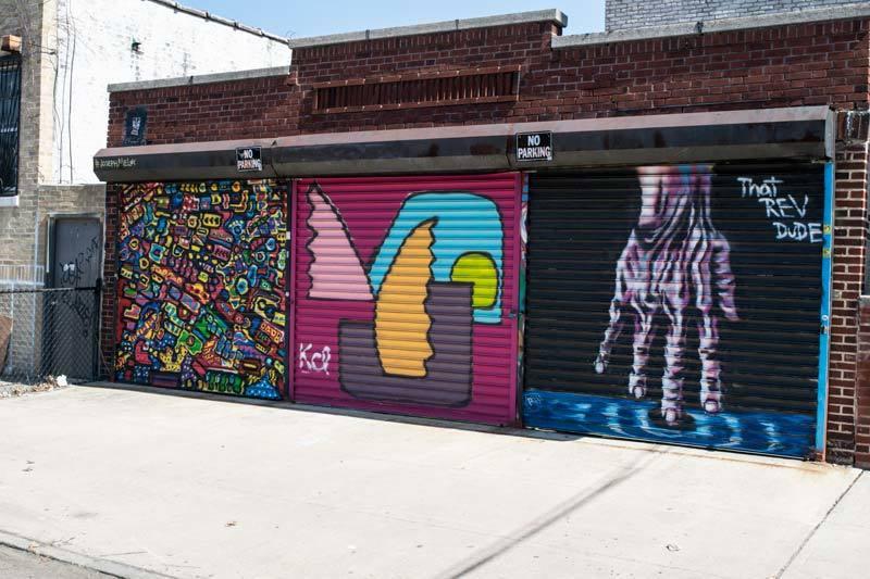 graffiti hands Astoria