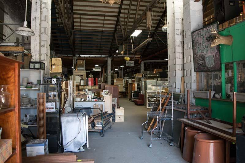 scrap warehouse Astoria, Queens