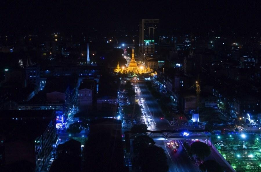 Burma Update Yangon Night