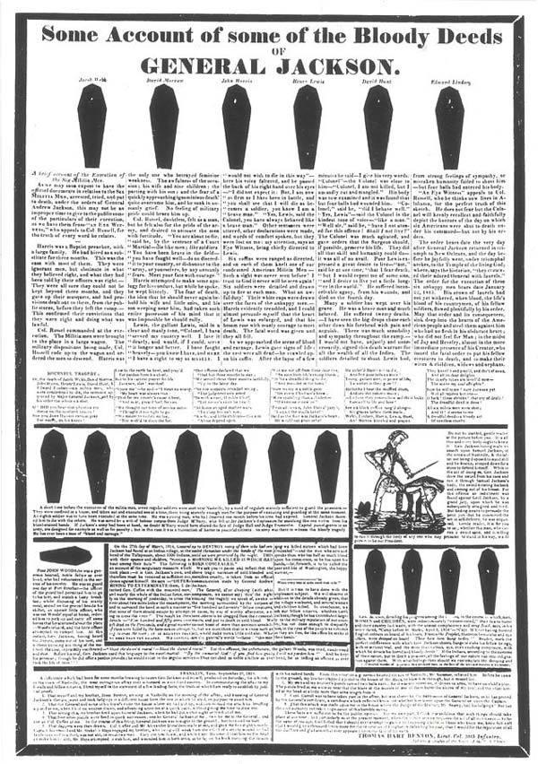 Coffin Handbill political smear campaign
