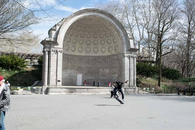 Bandshell in Central Park