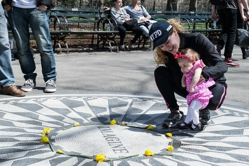 John Lennon Beatles memorial