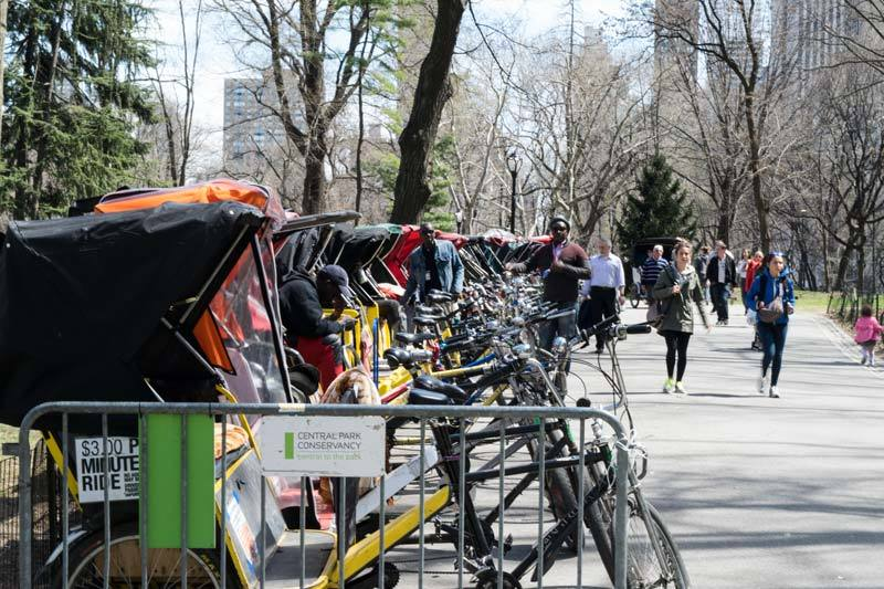 pedicabs central park NYC