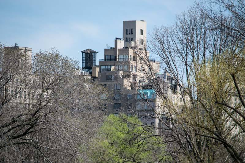 penthouses on Central Park East