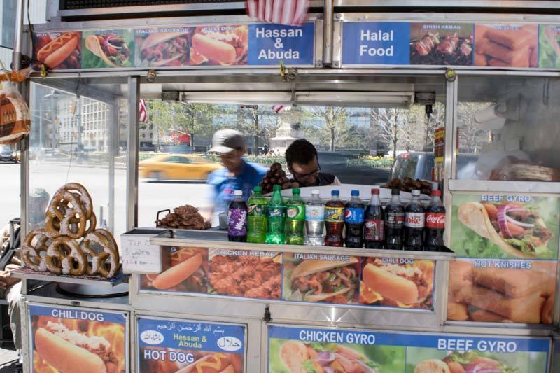 friendly NYC street vendors