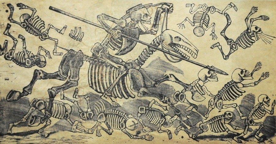 Cervantes Bones Skeleton Rider