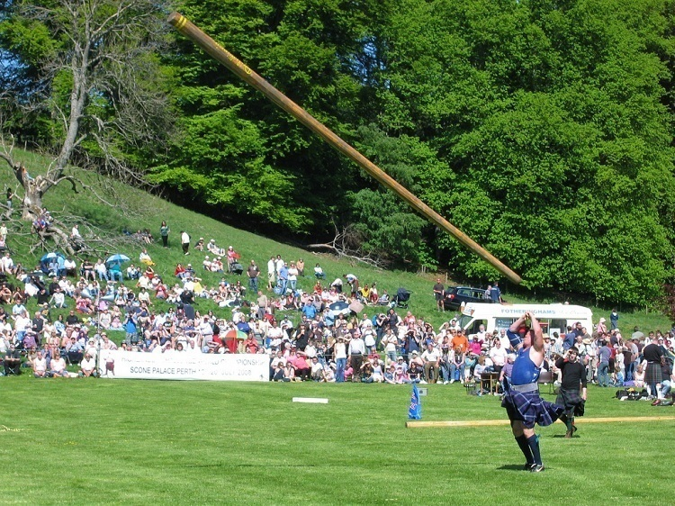 Cowal Games Caber Toss