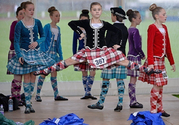 Cowal Games Dancers Kids