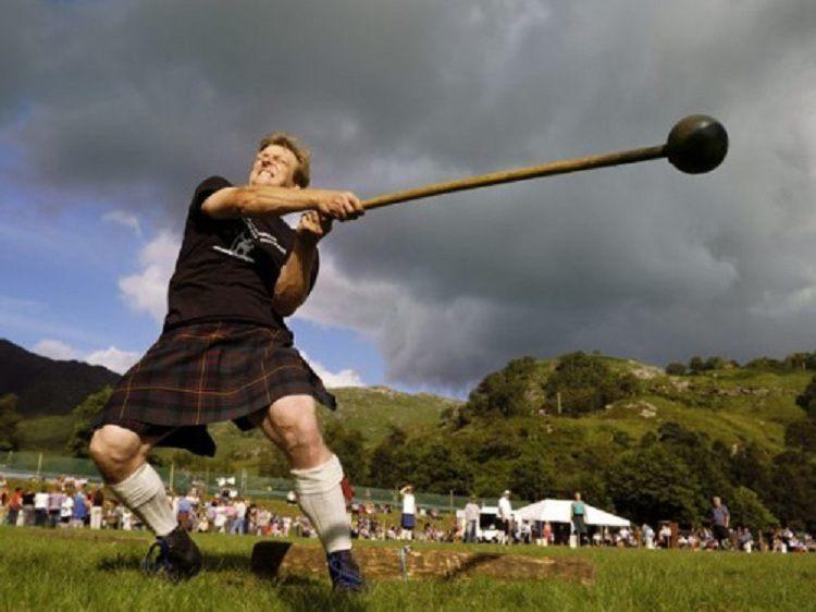 Cowal Games Hammer Throw