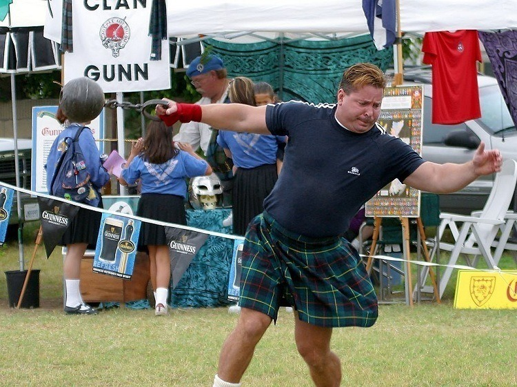 Cowal Games Heavy Events