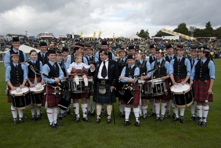 Cowal Games Drummers