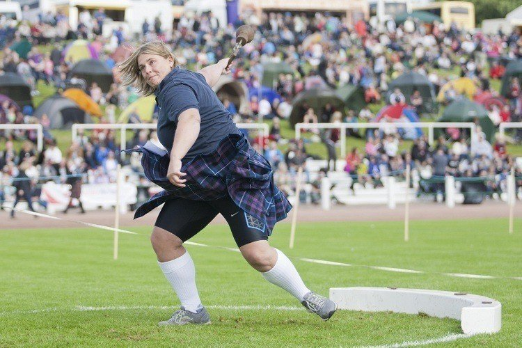 Cowal Games Weight Throw