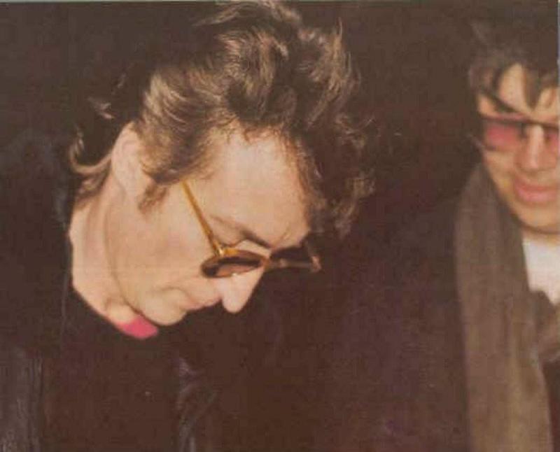 Death Pictures Lennon