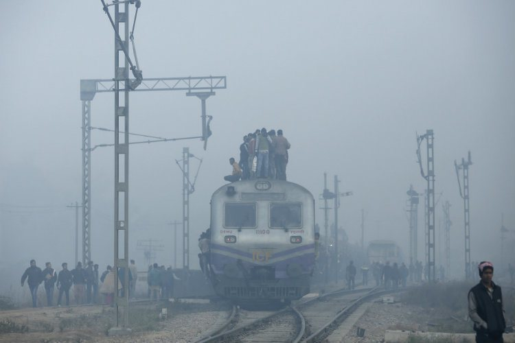 Most Polluted City Commuter Train