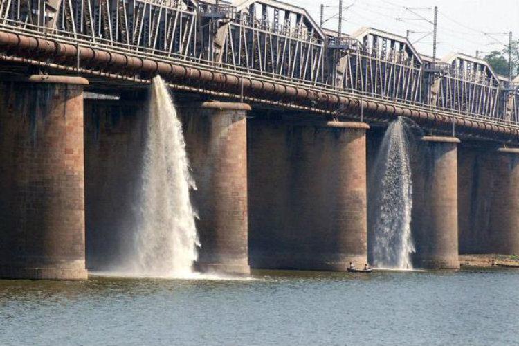 Raw Sewage Yamuna River