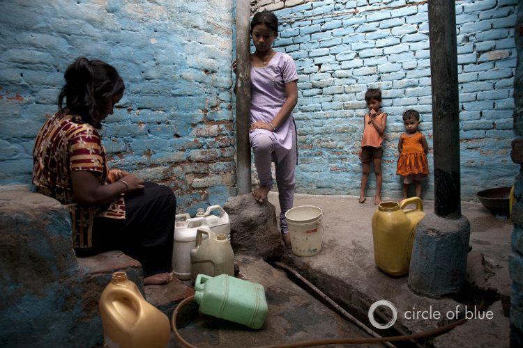 Water In Slum