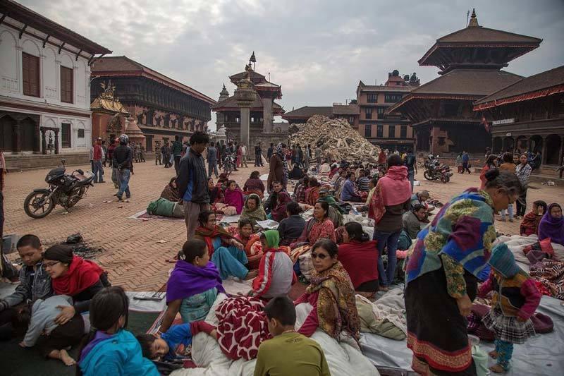 Royal palace square Nepal