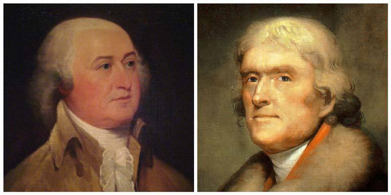 Thomas Jefferson vs. John Adams