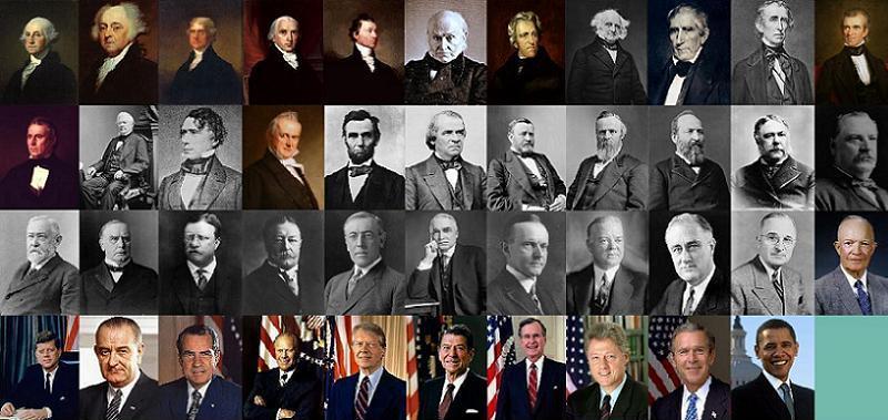 Famous Descendants Presidents