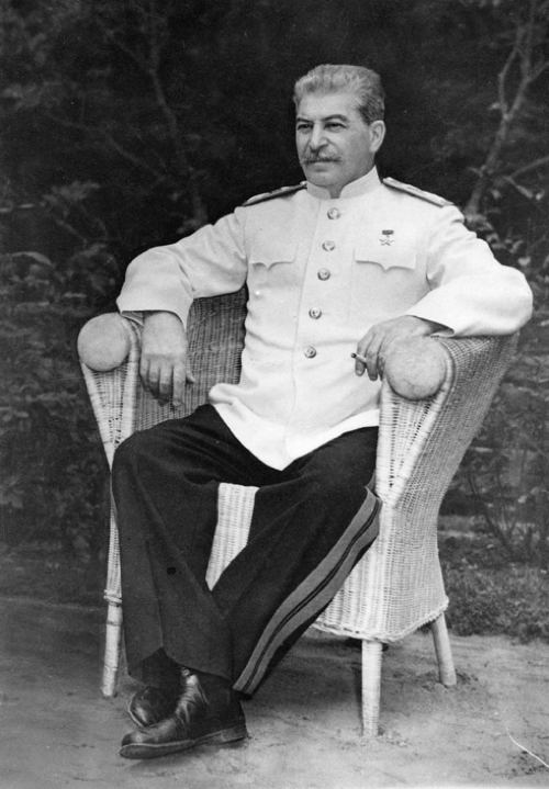 Joseph Stalin Sitting
