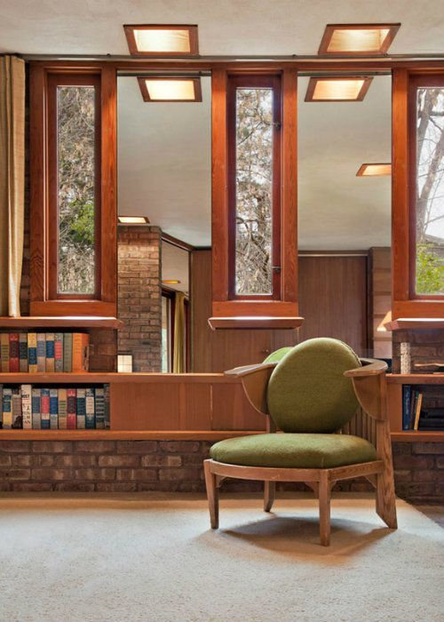 Frank Lloyd Wright Laurent Interior