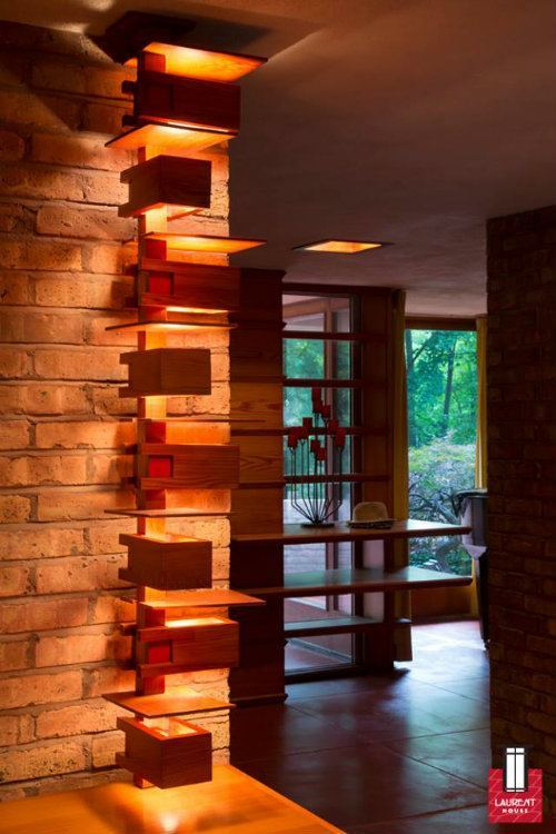 Frank Lloyd Wright Laurent Lighting