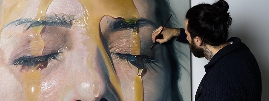 hyper realistic the artist