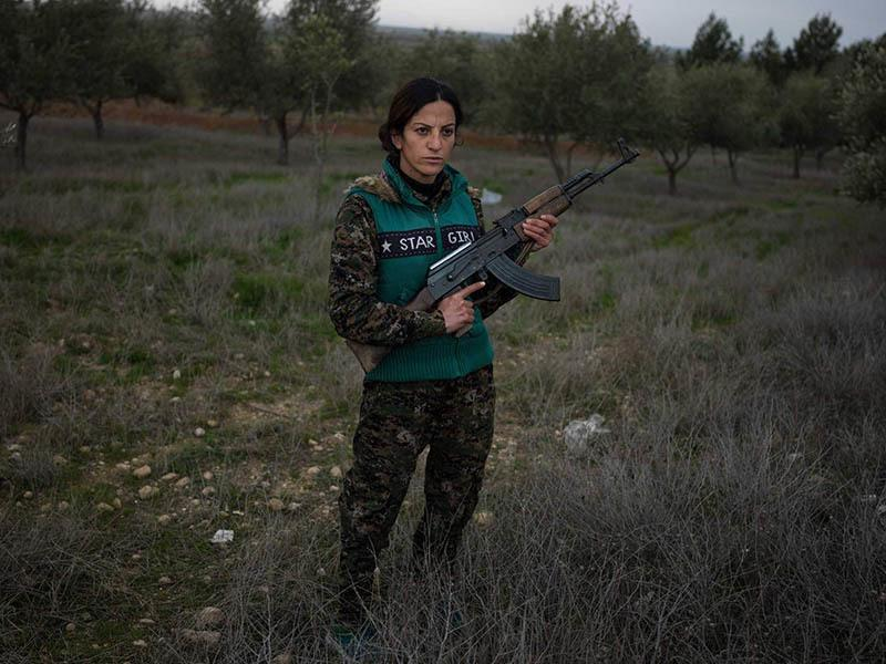 Women ISIS Fighters Zilan