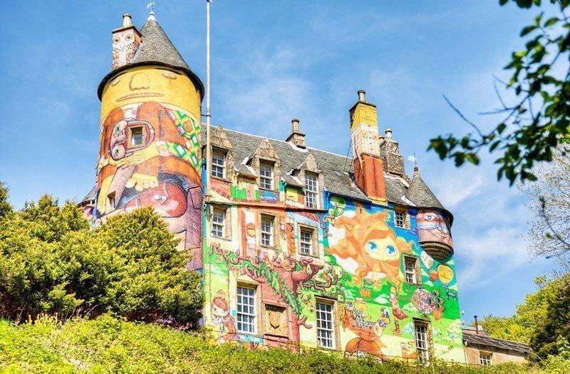 Brazilian Street Art in Scotland