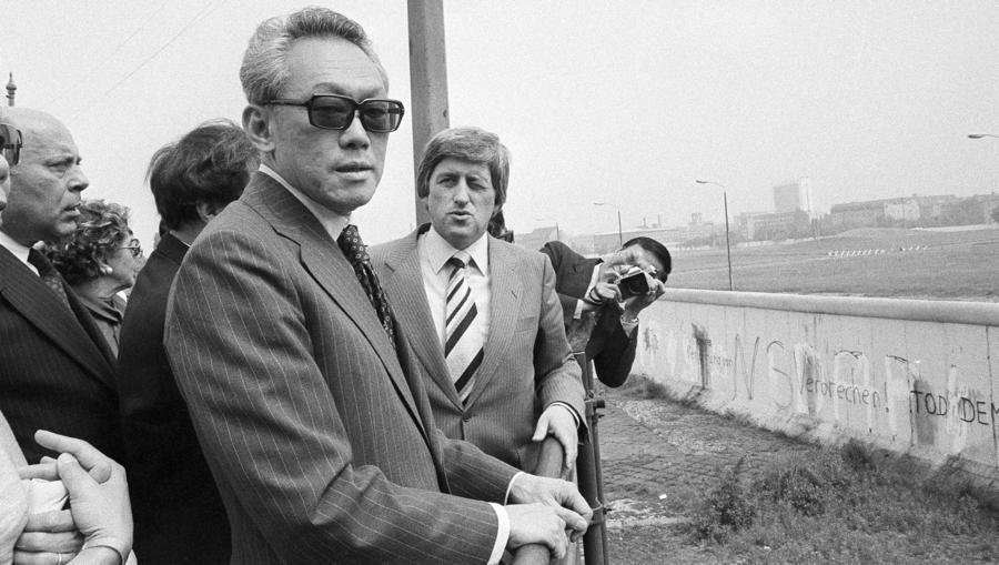 Lee Kuan Yew In Berlin In 1979