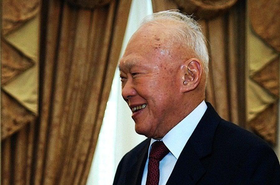 Lee Kuan Yew Old