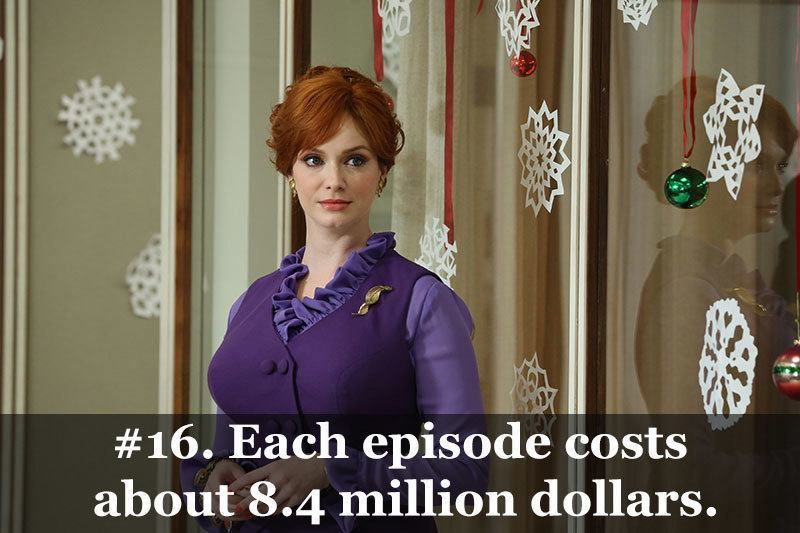 Mad Men Facts Episode Cost