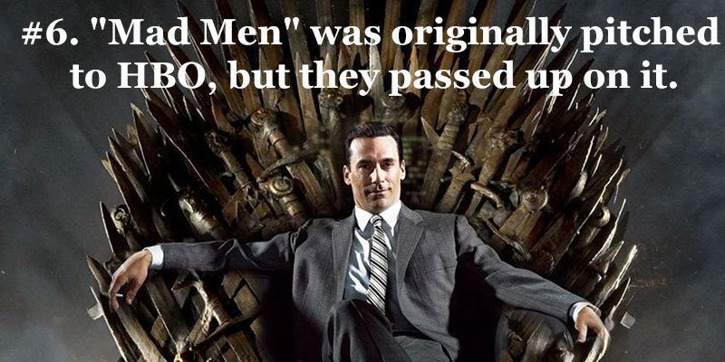 Pitched Mad Men Facts