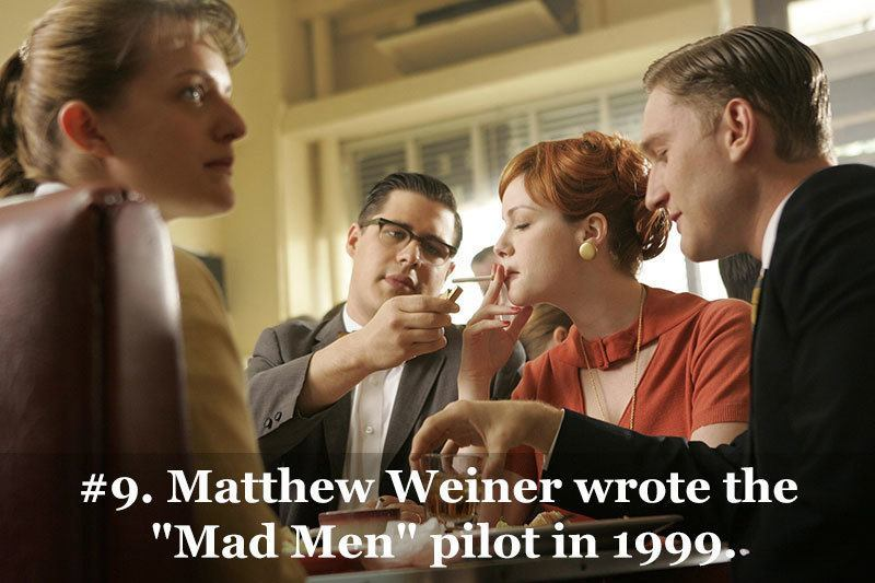 Matthew Weiner Mad Men Pilot