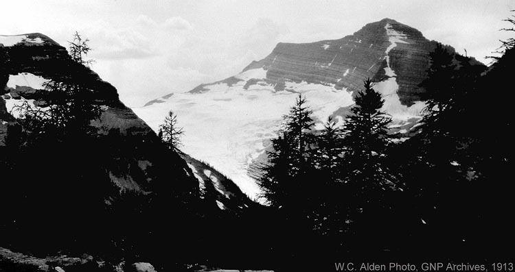 Melting Glaciers Agassiz 1913