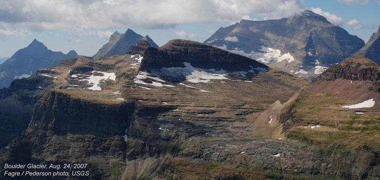 Melting Glaciers Boulder Chapman