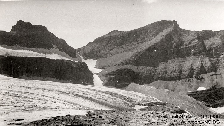 Melting Glaciers Grinnell 1936