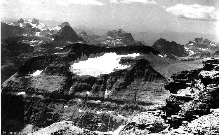 Melting Glaciers Piegan 1938