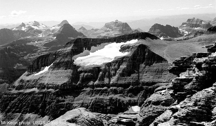 Melting Glaciers Piegan 1998