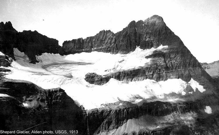 Melting Glaciers Shepherd 1913