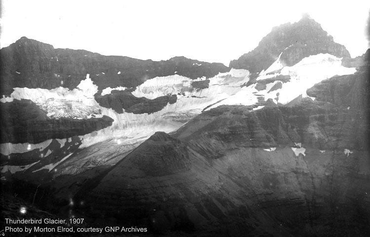 Melting Glaciers Thunderbird 1907