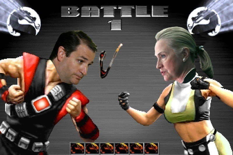 mortal kombat Cruz and Clinton