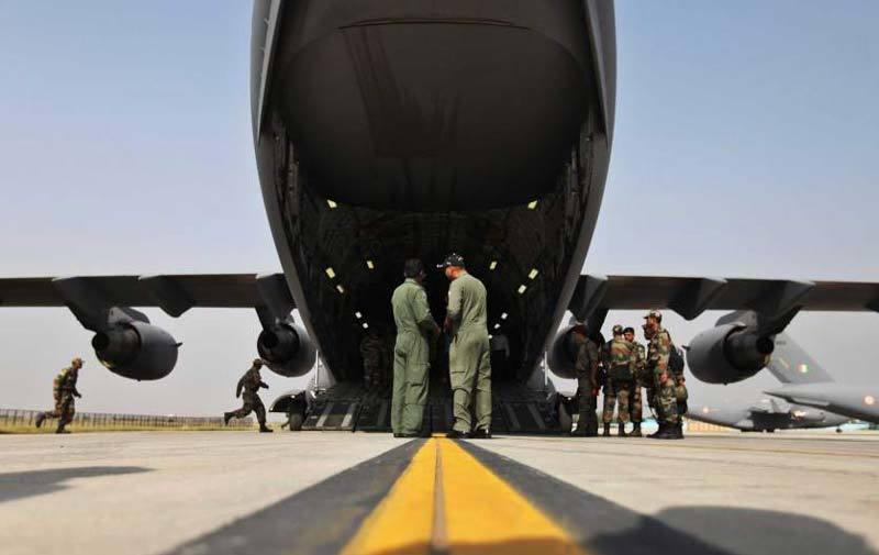 Indian Air Force supplies to Nepal