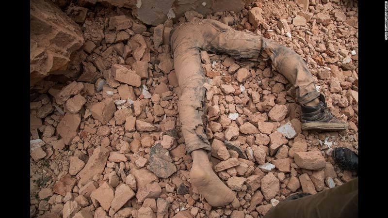 Man killed by debris in Nepal earthquake