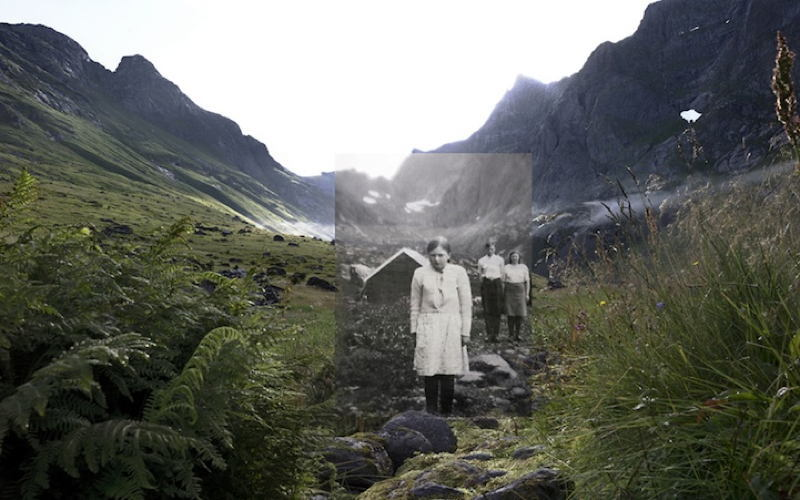 Norway Then Now Valley