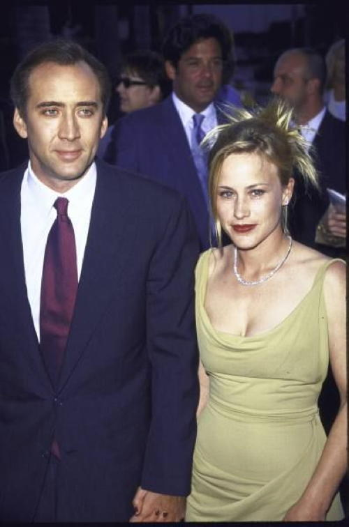 Old Loves Nicolas Cage and Patricia Arquette