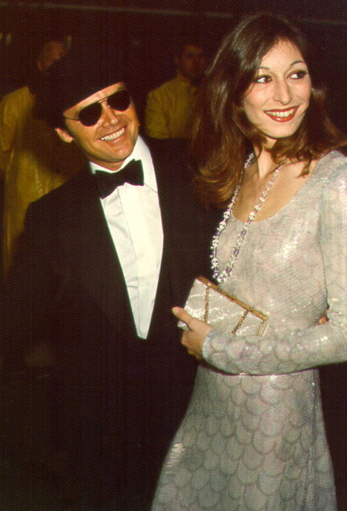 Old Loves Jack Nicholson and Anjelica Huston