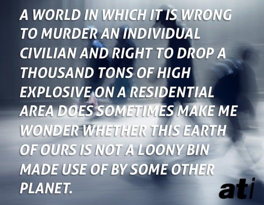On Murder Versus War