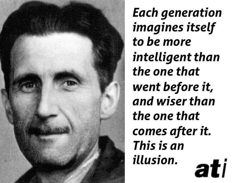 George Orwell On Generational Differences